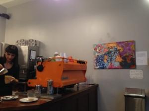 Barista at Café Grumpy