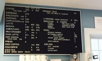donkey menu